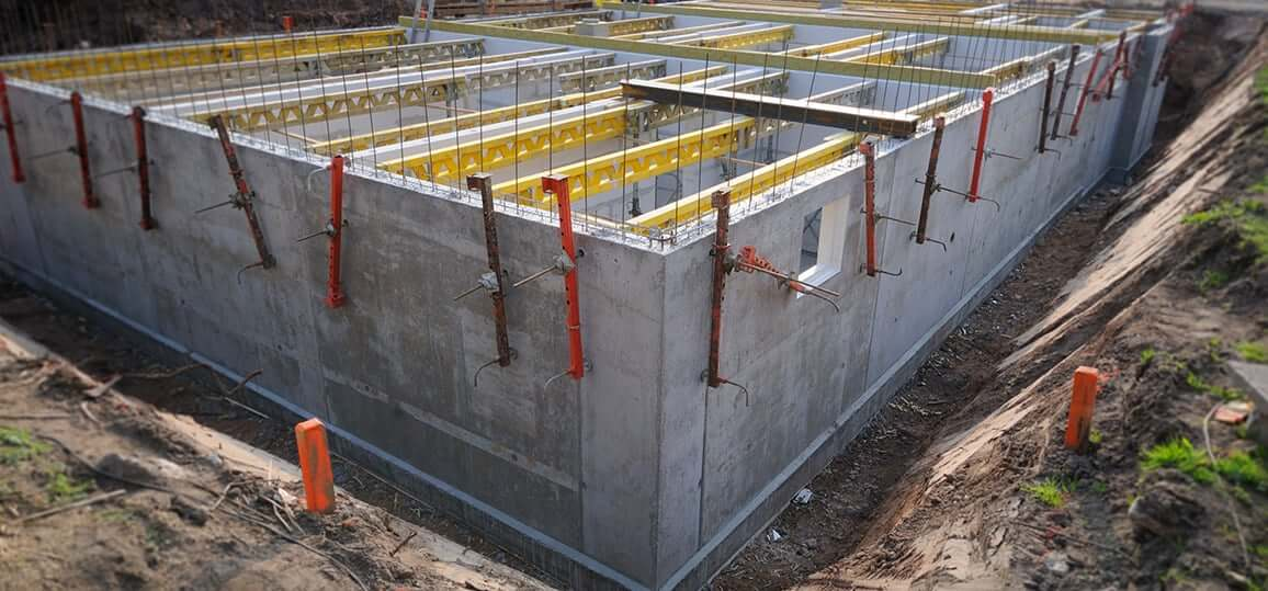 concrete for basement foundations