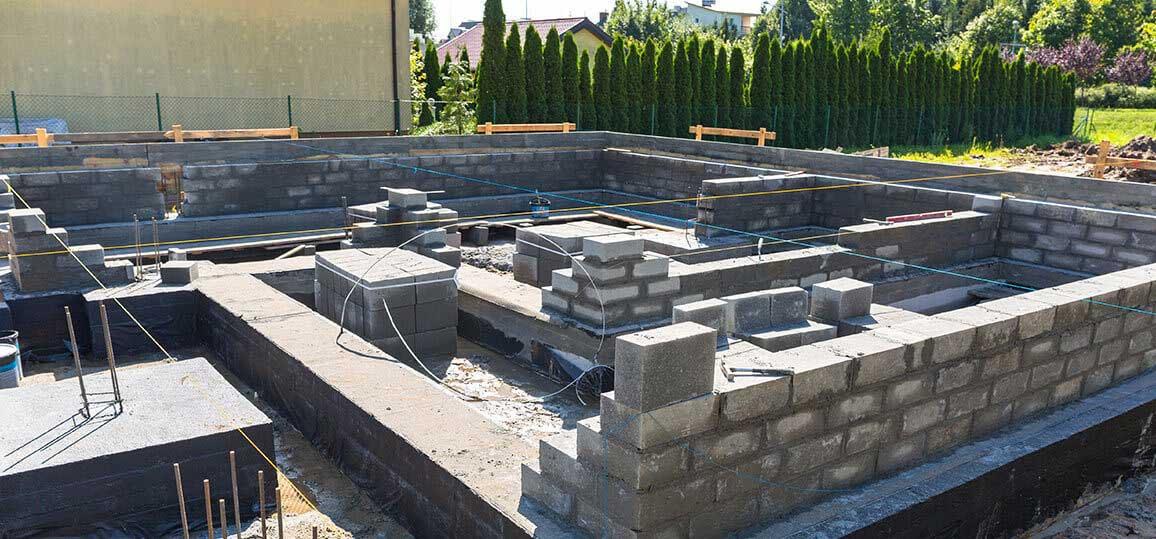 concrete for housing developments